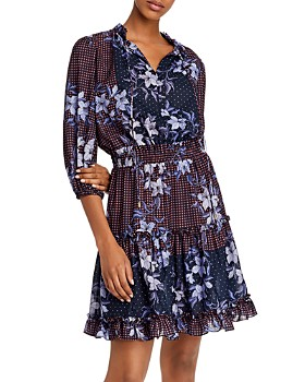 Shoshanna - Arlene Canyon Floral Dress