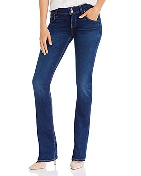 Hudson - Beth Mid Rise Bootcut Jeans In Obscurity