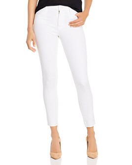MOTHER - Looker Ankle Skinny Jeans in Glass Slipper