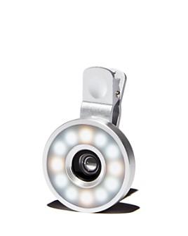 FashionIt - Glo Lens Rose Gold-Tone Selfie Light