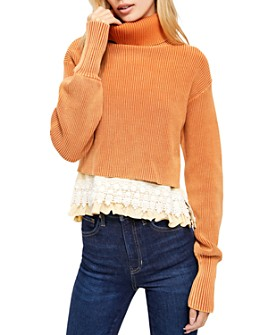 Free People - At First Glance Turtleneck Sweater