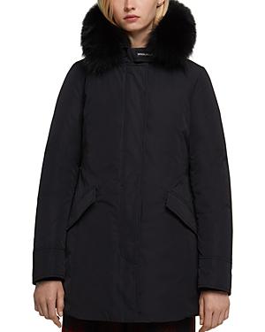 Woolrich John Rich & Bros Fur Trim Luxury Arctic Parka-Women