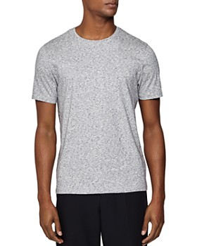 REISS - District Mélange Crewneck Tee