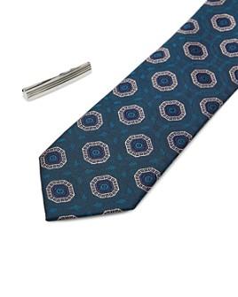 Ted Baker - Worset Tie Bar & Skinny Tie Gift Set