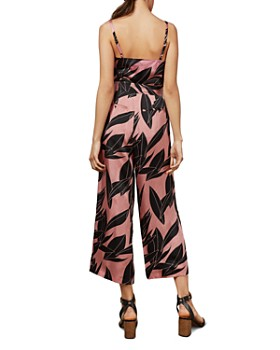 Ted Baker - Diantha Sour Cherry Palm-Printed Jumpsuit