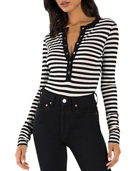 n:philanthropy - Monty Striped Bodysuit