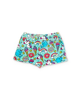 Candy Pink - Girls' Sprinkles & Unicorns Pajama Shorts - Little Kid, Big Kid