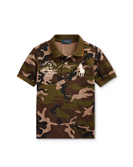 Ralph Lauren - Boys' Big Pony Camo Polo Shirt - Little Kid