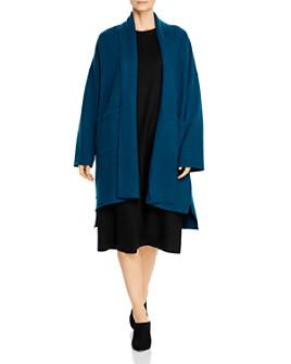 Eileen Fisher Petites - Wool Open Kimono Jacket