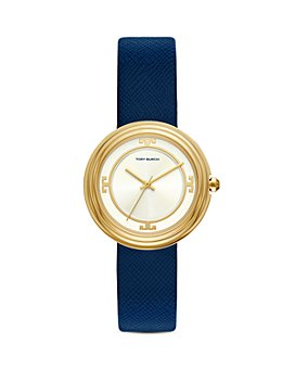 Tory Burch - Bailey Leather Strap Watch, 34mm