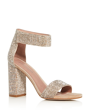 Jeffrey Campbell Women\\\'s Ankle-Strap Block High-Heel Sandals