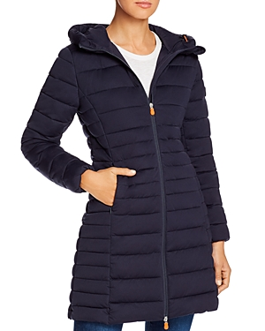 Save The Duck Hooded Long Puffer Coat - 100% Exclusive-Women