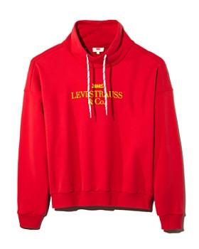 Levi's - Sadie '90s Funnel Neck Logo Sweatshirt