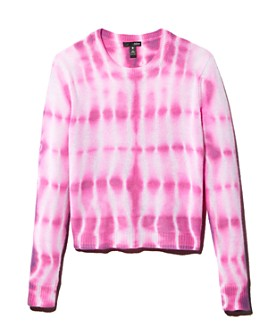 AQUA - Tie-Dye Cashmere Sweater - 100% Exclusive