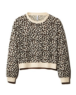 Z Supply - Brushed Leopard Print Sweatshirt
