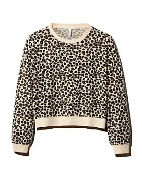 Z Supply - Brushed Leopard Print Sweatshirt