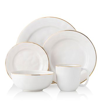 Juliska - Puro with Gold Rim 5-Piece Place Setting - 100% Exclusive