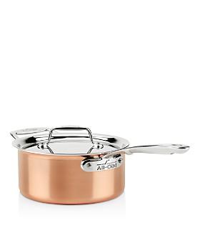 All-Clad - c4 Copper 3 qt. Sauce Pan C4203