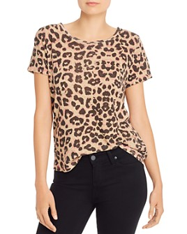 MOTHER - The Itty Bitty Sinful Leopard Print Tee