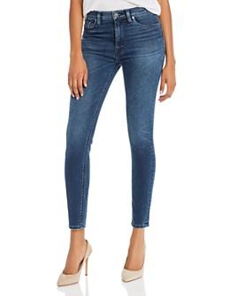 Hudson - Super Skinny Ankle Jeans in Gambit 2