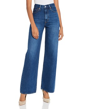 Levi's - Ribcage Wide-Leg Jeans in High Times