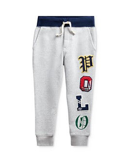 Ralph Lauren - Boys' Graphic Fleece Jogger Pants - Little Kid
