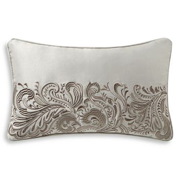 "Waterford - Danehill Embroidered Decorative Pillow, 11"" x 20"""
