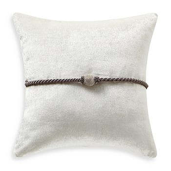 "Waterford - Vernon Rhinestone Decorative Pillow, 18"" x 18"""