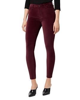 Sanctuary - Social Standard Velvet High-Rise Skinny Jeans