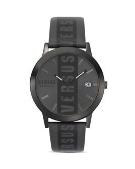 Versus Versace - Barbes Leather Strap Watch, 44mm