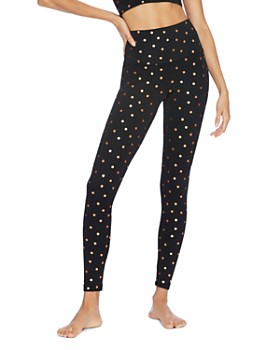 Beach Riot - Foil Polka Dot Leggings