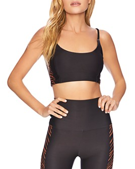 Beach Riot - Tiger-Stripe Sports Bra