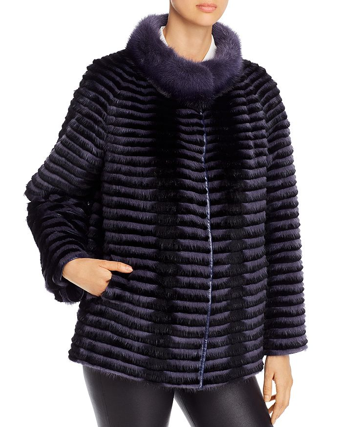 Maximilian Furs - Reversible Mink Fur Jacket - 100% Exclusive
