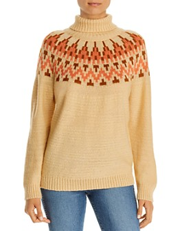 Alison Andrews - Fair Isle Turtleneck Sweater