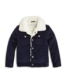 Splendid - Boys' Sherpa-Lined Corduroy Jacket - Little Kid