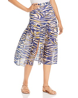 Suboo - Into the Wilds Pleated Midi Skirt