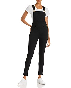 WeWoreWhat - High-Rise Skinny Overalls