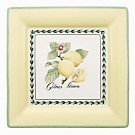 "Villeroy & Boch ""French Garden"" Macon Square Dinner Plate"