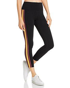 Calvin Klein - Side-Stripe Ankle Leggings