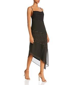 C/MEO Collective - Palatial Asymmetric Midi Dress