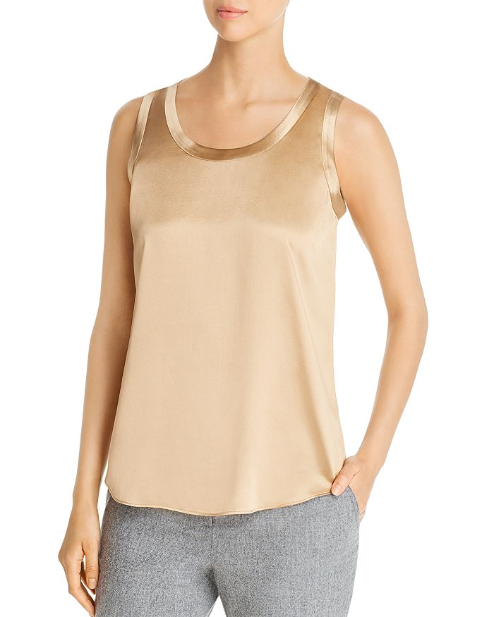 Lafayette 148 New York - Reversible Perla Silk Blouse