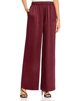 kate spade new york - Satin Pull-On Palazzo Pants