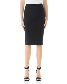 Peserico - Darted & Vented Pencil Skirt