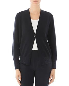 Peserico - Virgin Wool-Blend Single-Button Cardigan