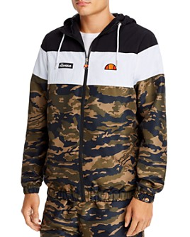 ellesse - Mattar Camo Color-Block Jacket