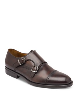 Bruno Magli - Men's Barone Double Monkstrap Oxfords