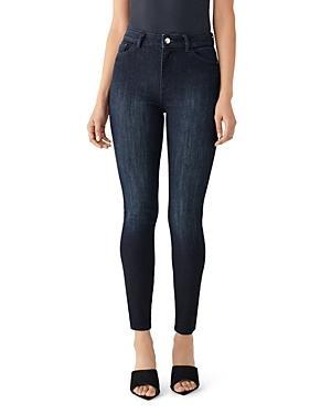 DL1961 x Marianna Hewitt Farrow Ankle High-Rise Jeans in Fresno-Women