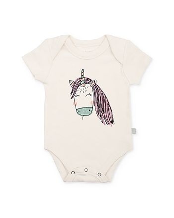 Finn & Emma - Girls' Unicorn Bodysuit - Baby