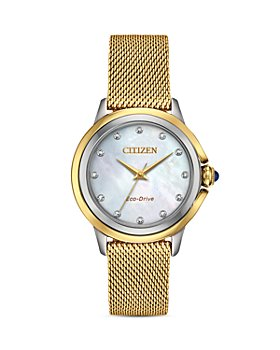 Citizen - Ceci Diamond Mother-of-Pearl Dial Watch, 32mm