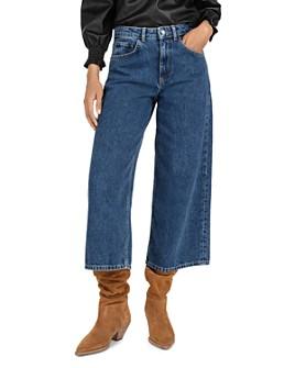ba&sh - Volt Cropped Wide-Leg Jeans
